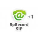 Дополнительный канал SpRecord SIP