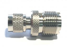 Переходник Mini UHF-штекер/SO239 (MU-312)