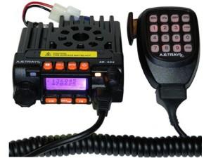 Сверхкомпактная двухдиапазонная автомобильная радиостанция Ajetrays AR-444